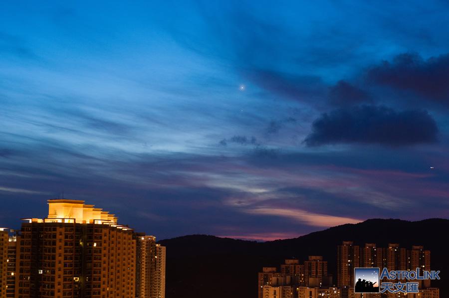 2014.08.17 金星合木星 Nikon D90, AF Nikkor 50mm f/1.8 D