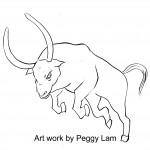宙斯化身之大白牛